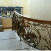 Кованые перила для балкона, лестниц, крыльца П-152