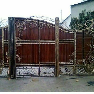 Кованые ворота V-123