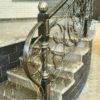 Кованые перила для балкона, лестниц, крыльца П-163