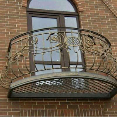 Кованые балконы Б-69