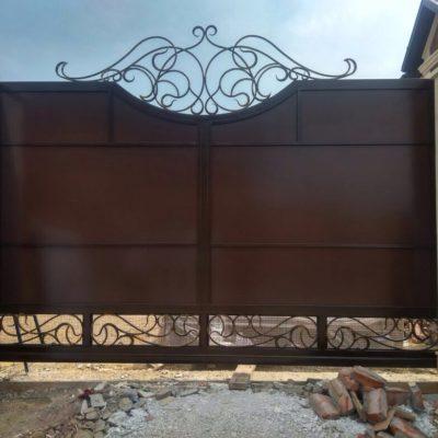 Кованые ворота V-126