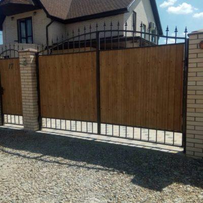Кованые ворота V-125