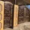 Кованые ворота V-152