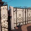 Кованые ворота V-154