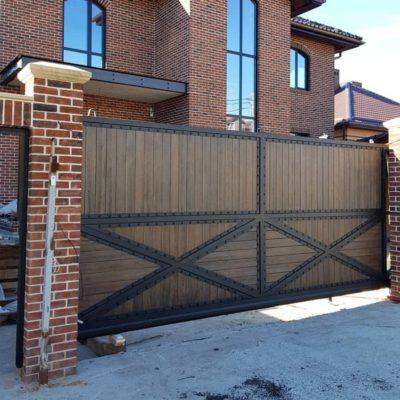 Кованые ворота v-157