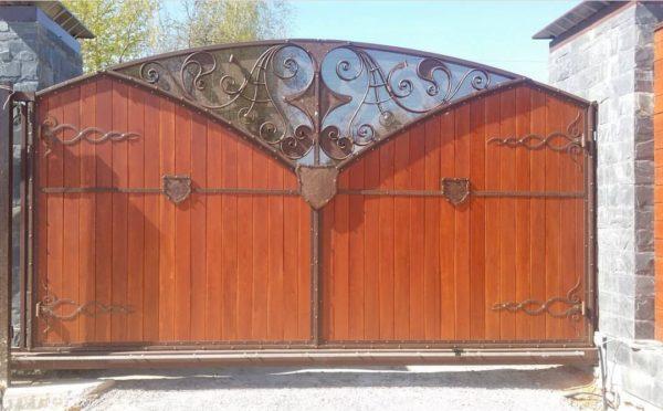 Кованые ворота v-159