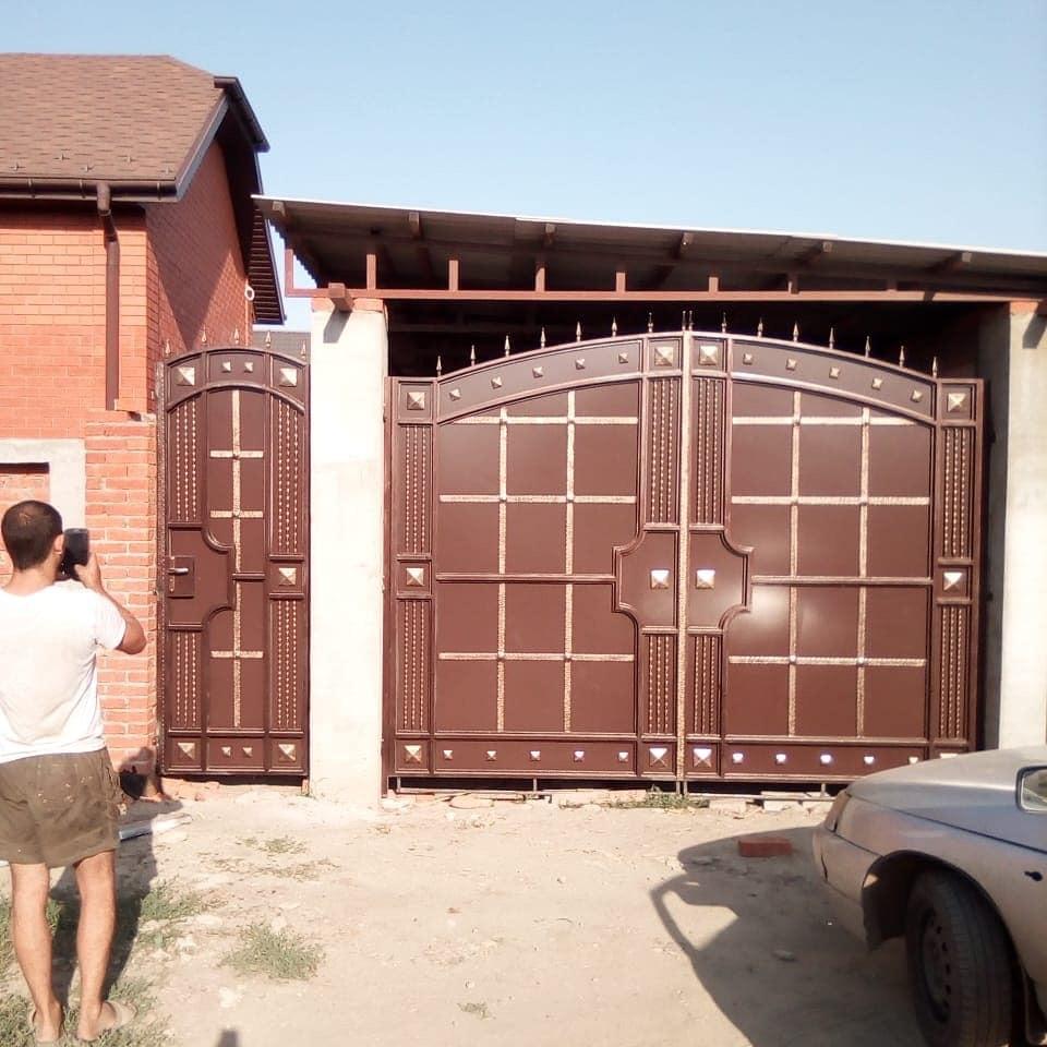ворота для частного дома фото в узбекистане мирно дремали